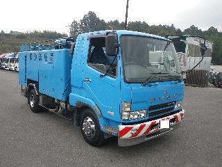 三菱 パッカー・アームロール・清掃関係 中型 平成16年11月 PA-FK61FE 1枚目