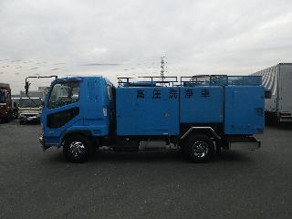 三菱 パッカー・アームロール・清掃関係 中型 平成16年11月 PA-FK61FE 4枚目