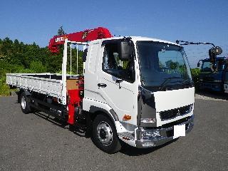 三菱 クレーン付・セルフローダー 大型  ■売約済み■ 2KG-FK62FZ 1枚目