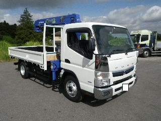 三菱 クレーン付・セルフローダー 小型 平成30年5月 ■売約済み■ TPG-FEB80 1枚目