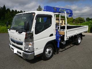 三菱 クレーン付・セルフローダー 小型 平成30年5月 ■売約済み■ TPG-FEB80 3枚目