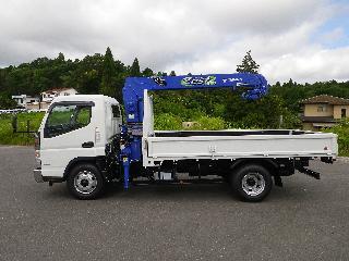 三菱 クレーン付・セルフローダー 小型 平成30年5月 ■売約済み■ TPG-FEB80 4枚目