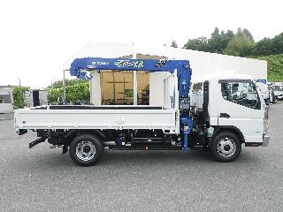 三菱 クレーン付・セルフローダー 小型 平成30年5月 ■売約済み■ TPG-FEB80 6枚目