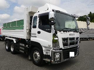 いすゞ ダンプ・ミキサー 大型 平成27年11月 ■売約済み■ QKG-CXZ77AT 1枚目