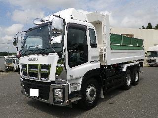 いすゞ ダンプ・ミキサー 大型 平成27年11月 ■売約済み■ QKG-CXZ77AT 3枚目