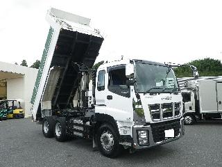 いすゞ ダンプ・ミキサー 大型 平成27年11月 ■売約済み■ QKG-CXZ77AT 10枚目