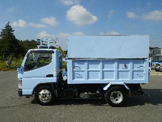 三菱 ダンプ・ミキサー 小型 平成23年10月 SKG-FBA60 4枚目