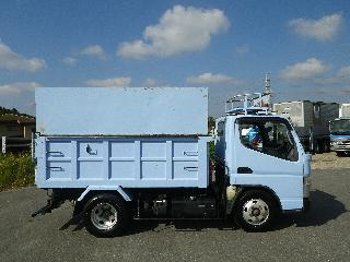 三菱 ダンプ・ミキサー 小型 平成23年10月 SKG-FBA60 6枚目