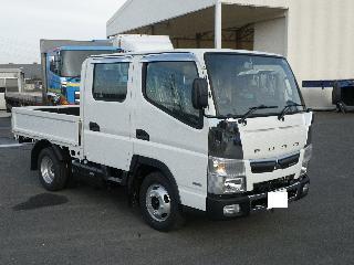 三菱 平ボデー・Wキャブ・シャーシ 小型 平成30年11月 TPG-FBA20 1枚目