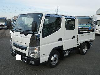 三菱 平ボデー・Wキャブ・シャーシ 小型 平成30年11月 TPG-FBA20 3枚目