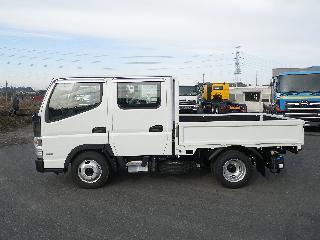 三菱 平ボデー・Wキャブ・シャーシ 小型 平成30年11月 TPG-FBA20 4枚目
