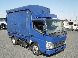三菱 平ボデー・Wキャブ・シャーシ 小型 平成22年10月 BKG-FE70BS 1枚目