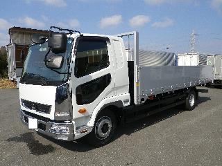 三菱 平ボデー・Wキャブ・シャーシ 増トン  2KG-FK62FZ 3枚目