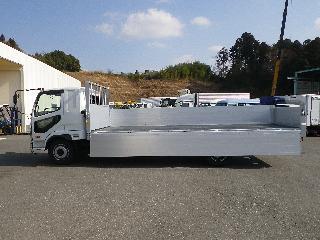 三菱 平ボデー・Wキャブ・シャーシ 大型  2KG-FK62FZ 15枚目