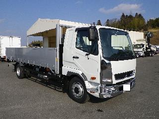 三菱 平ボデー・Wキャブ・シャーシ 大型  2KG-FK62FZ 1枚目