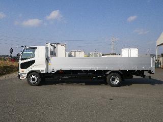 三菱 平ボデー・Wキャブ・シャーシ 増トン 平成31年2月 2KG-FK62FZ 4枚目