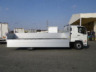 三菱 平ボデー・Wキャブ・シャーシ 大型  2KG-FK62FZ 11枚目