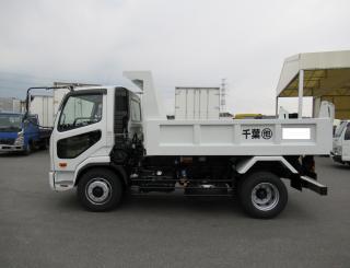 三菱 ダンプ 増トン  2KG-FK72FZ 4枚目