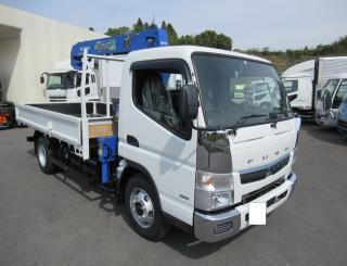 三菱 クレーン付 小型  TPG-FEB80 1枚目