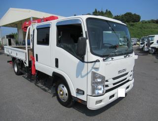 いすゞ クレーン付 小型 平成27年8月 TRG-NPR85AR 1枚目